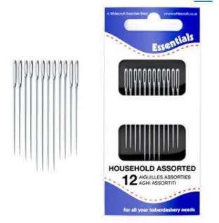 0  70091 Household Assortment Hand Sewing Needles Style: Household Assortment Unit Type: Wallets QTY